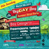 Big Gay Day 2014 Line up includes Boy George