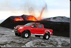 Toyota's HiLux drives to the heart of Iceland's volcano GAYCARBOYS