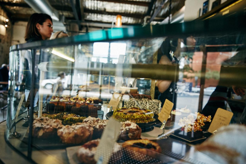 Black Star Pastry in Rosebery always has a tempting array of cakes, pastries, and sweet treats