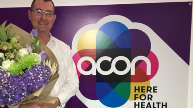 Mark Orr steps down as ACON President.