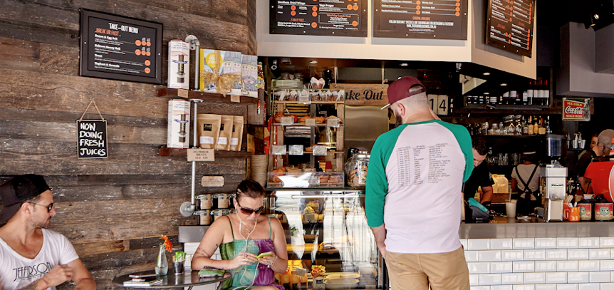 The Hub House Diner is a popular lunch spot in Dulwich Hill