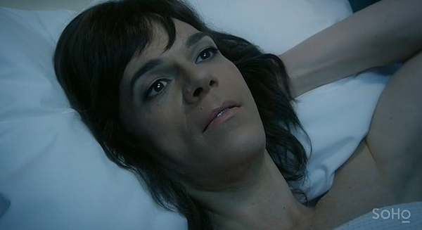 Maxine was diagnosed with estrogen-sensitive cancer in season four.