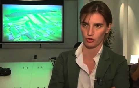 Ana Brnabic is the first gay person appointed to Serbia's government. Picture: Youtube