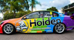 holden rainbow car