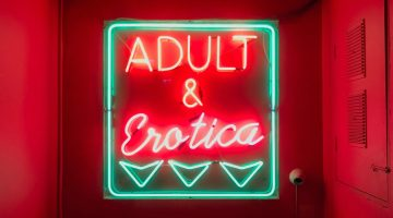 porn adult erotic sign