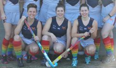 QUT hockey players