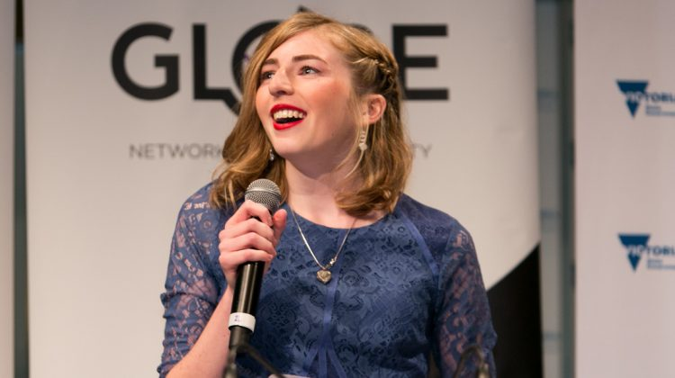 GLOBE Community Awards Georgie Stone