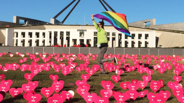 parliament marriage equality hearts