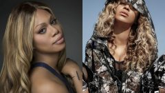 Laverne Cox and Beyonce