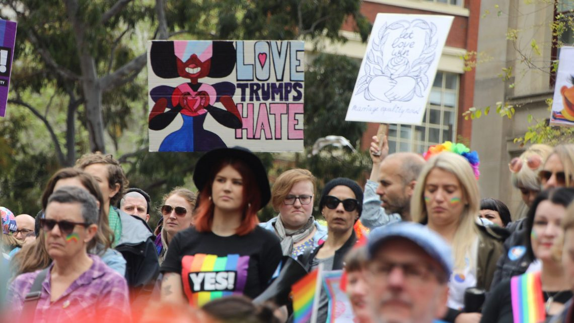marriage equality pride betrayal hate