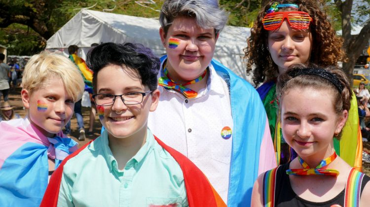 pride rainbow youth kids students
