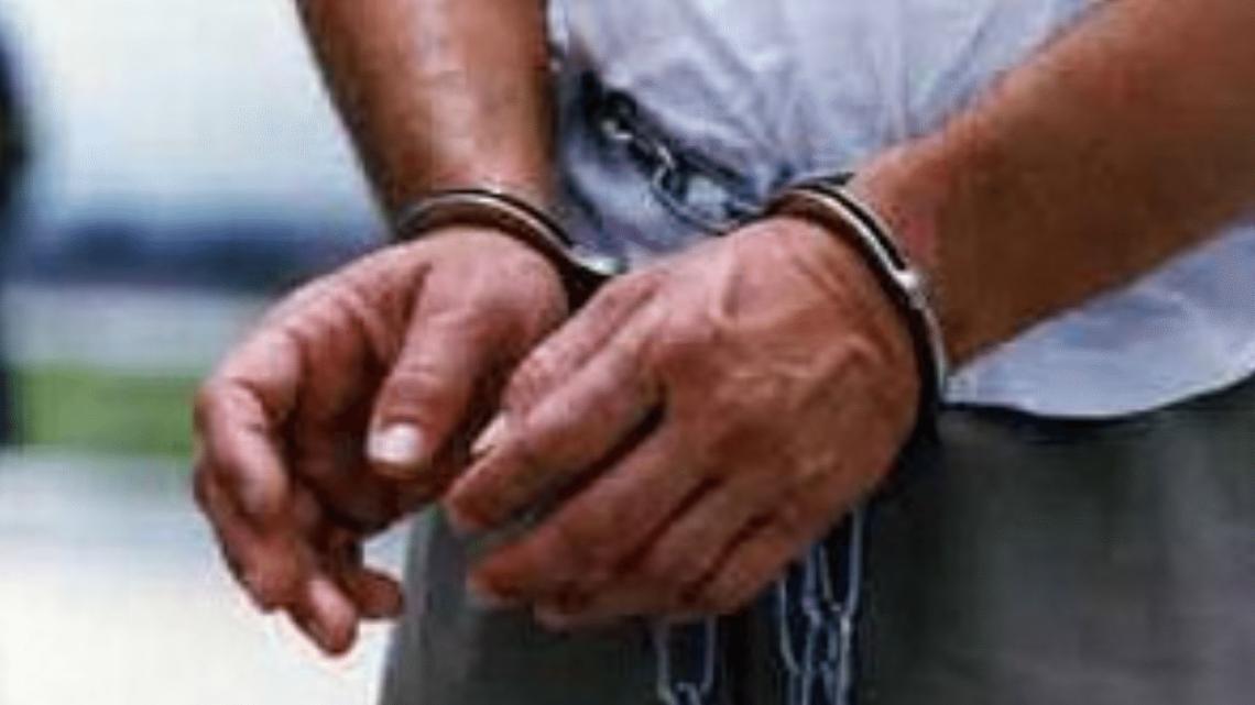 arrest handcuffs crime deported
