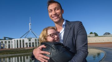 marriage equality magda ian thorpe canberra day
