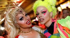 mardi gras party courtney act lockout