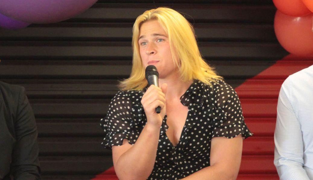 Hannah Mouncey afl football trans