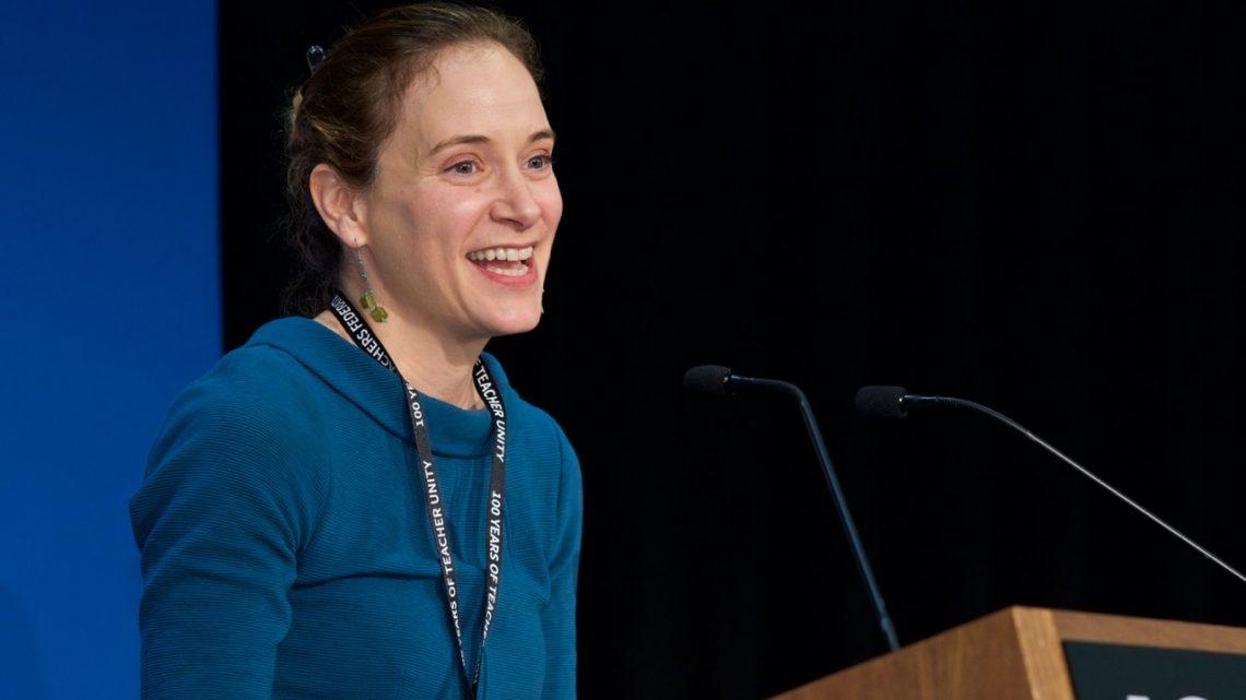 Dr Jacqueline Ullman teachers study