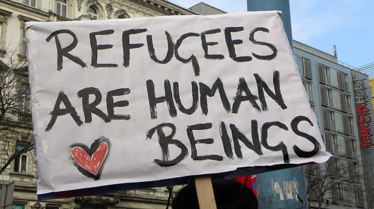 austria refugees asylum seekers demonstration gay iraqi