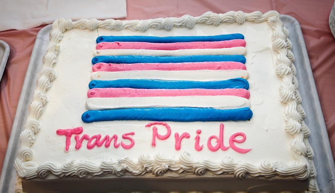 gender transition cake trans baker