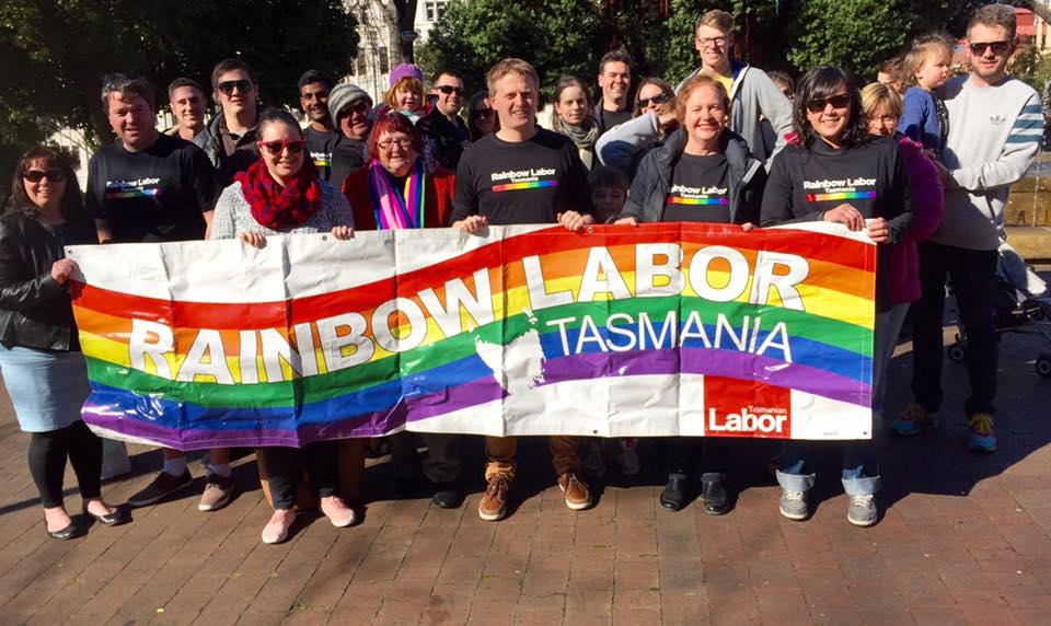 tasmania rainbow labor