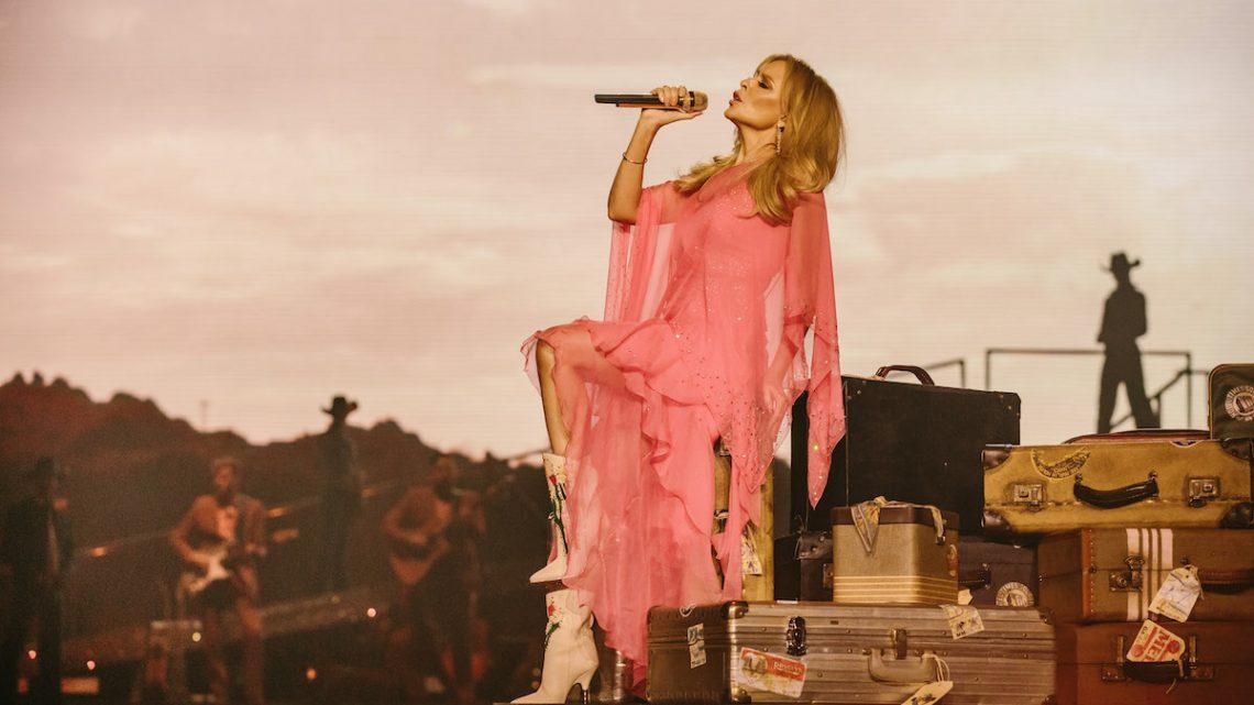 Kylie Minogue golden tour 2019