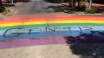 rainbow crossing lismore