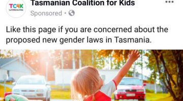 tasmanian coalition for kids