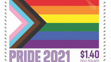 New Zealand Rainbow Pride Stamp 2021